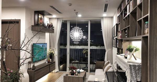 Tận hưởng cuộc sống đúng nghĩa trên tầng cao trong căn hộ nhỏ 72.6m² đẹp như căn hộ mẫu ở Hà Nội