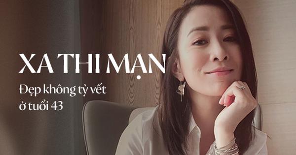 Bước sang tuổi 43, mỹ nhân TVB Xa Thi Mạn chẳng ngại khoe mặt mộc trắng hồng không tì vết