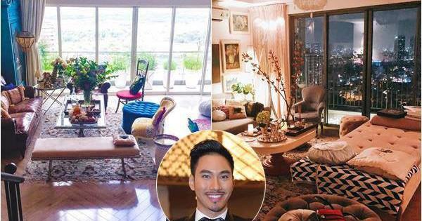 Ngắm hai căn hộ xa hoa bậc nhất showbiz Việt của nhà thiết kế Lý Quí Khánh