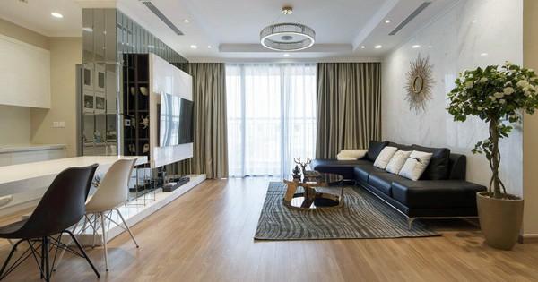 """Chi 300 triệu đồng cải tạo trong vòng 45 ngày, căn hộ 126m² ở Hà Nội """"lột xác"""" đẹp đến bất ngờ"""