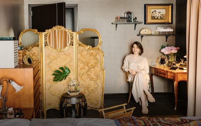 Căn hộ đi thuê rộng 50m² được trang trí đẹp bất ngờ bằng việc góp nhặt đồ đạc sau 7 lần chuyển nhà của người phụ nữ xinh đẹp
