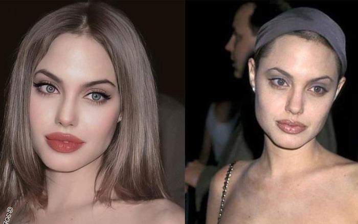 """Sự thật phía sau bộ ảnh Angelina Jolie ở thời kỳ đẹp nhất: Nhan sắc kinh diễm là thế nhưng hóa ra lại là hàng """"nhái"""""""