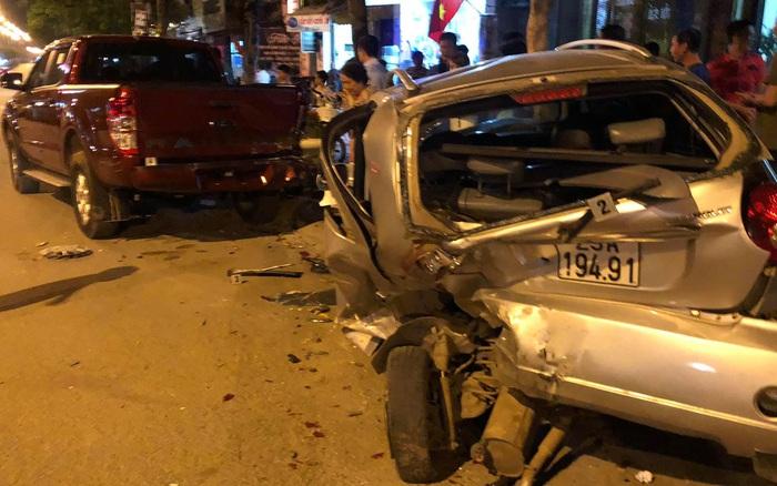 Vụ xe Mazda tông hàng loạt phương tiện khiến 1 người chết rồi bỏ chạy: Nam thanh niên chưa có bằng lái, xe mượn của anh rể, nồng độ cồn vượt mức quy định