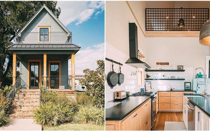 Nhà cấp 4 nhỏ xinh với diện tích 25m² nằm giữa thiên nhiên nhìn ngoài thì tầm thường mà bên trong khiến ai cũng thích