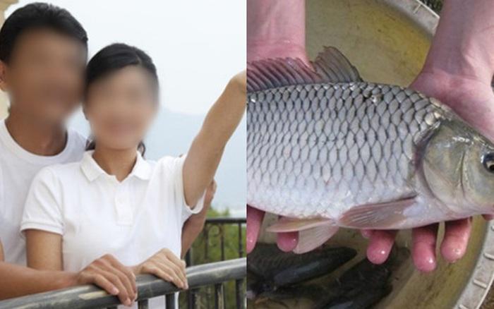 Mang cá sang biếu bố mẹ đẻ thì bị chồng xỉa xói: