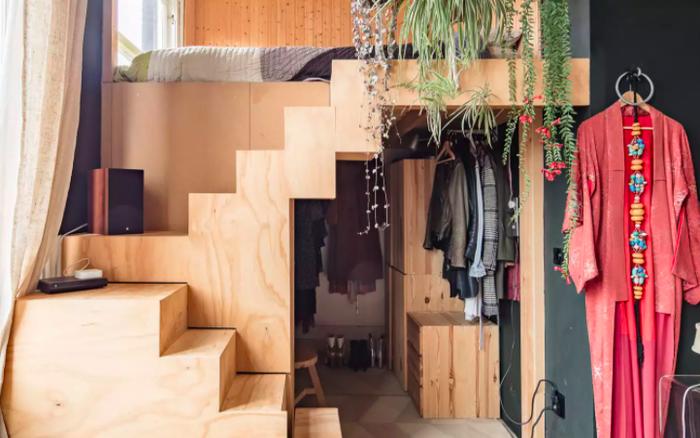 Những ý tưởng siêu thú vị và tiện ích bố trí giường gác xép cho căn hộ nhỏ