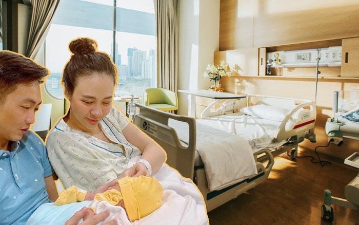 Lấy chồng đại gia, Đàm Thu Trang đi đẻ ở bệnh viện sang chảnh, chi phí đương nhiên