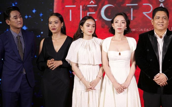 Dàn sao Việt váy áo xúng xính xuất hiện lộng lẫy trên thảm đỏ