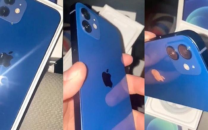 iPhone 12 màu xanh dương của Apple dính lời nguyền