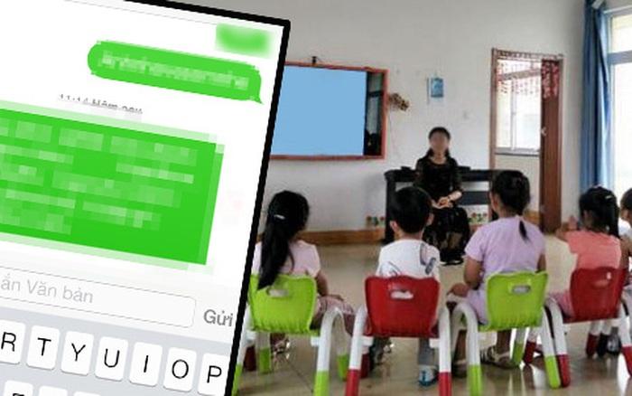 Không tặng quà cho cô giáo, bà mẹ nhận ngay tin nhắn