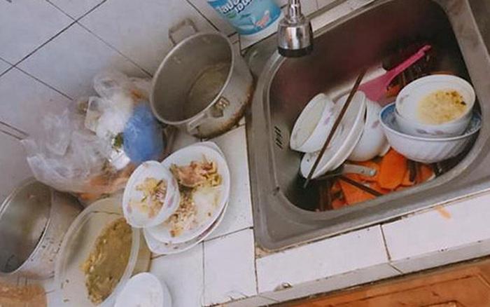 Vợ nhờ rửa hộ mâm bát liền bị chồng hất tung rồi dọa đuổi về mẹ đẻ, nhưng chưa đầy 5 phút sau anh phải