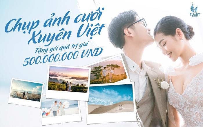 Thỏa mãn ước mơ xa xỉ với bộ ảnh cưới xuyên Việt check-in sang chảnh tại những resort đẳng cấp