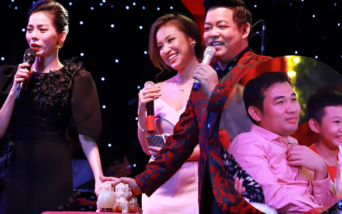 Chồng sắp cưới của Vân Hugo chi 80 triệu mua vật phẩm từ thiện của Lệ Quyên và Quang Lê
