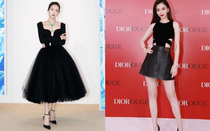 Sao nữ trên thảm đỏ tuần qua: Váy đen dễ mặc là thế nhưng Nữ thần Kim Ưng Tống Thiến vẫn là nhân vật bị