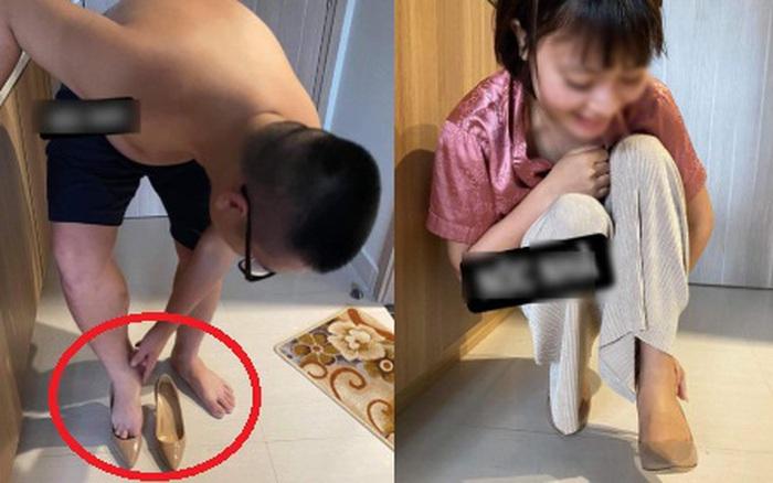 """Háo hức được vợ tặng giày thiết kế mới nhất 2020 nhân dịp tăng lương, chồng """"méo mặt"""" đi thử khi hàng về, câu chốt của chị khiến anh đau càng thêm đau"""