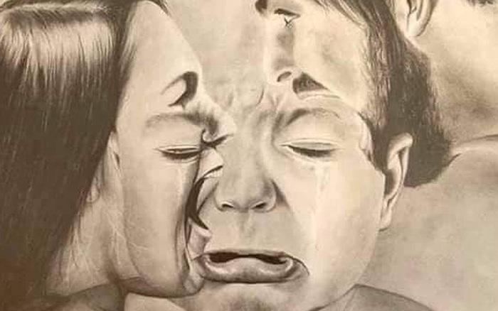 Bức ảnh khiến bất cứ ông bố bà mẹ nào cũng phải giật mình: Chỉ 1 lời to tiếng cũng đủ khiến trẻ tổn thương thế này đây