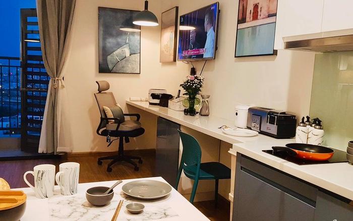 Căn hộ 28m² đẹp từng centimet với cách lựa chọn nội thất thông minh, có chi phí hoàn thiện 100 triệu đồng ở Hà Nội