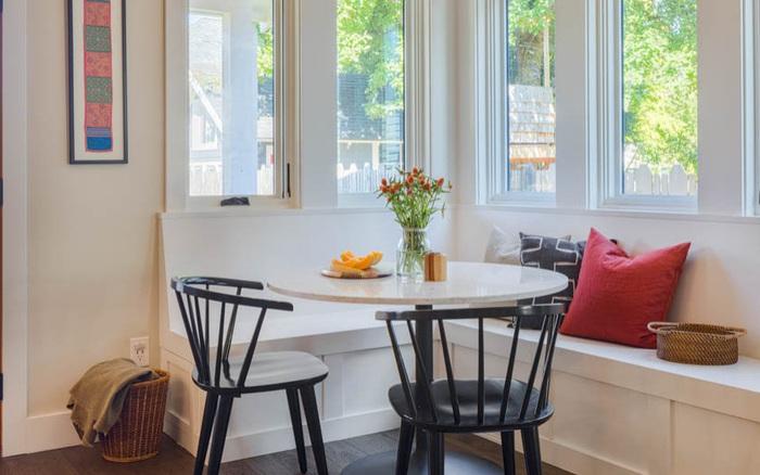 Tận dụng những góc siêu nhỏ làm nơi ăn sáng vừa tiện ích vừa tiết kiệm không gian