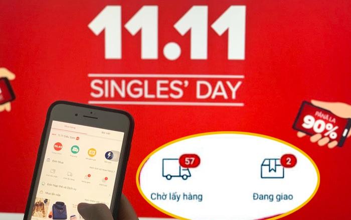 Ngày độc thân 11/11 tính đến 15h: Dân văn phòng khoe chiến tích săn sale, loạt giỏ hàng