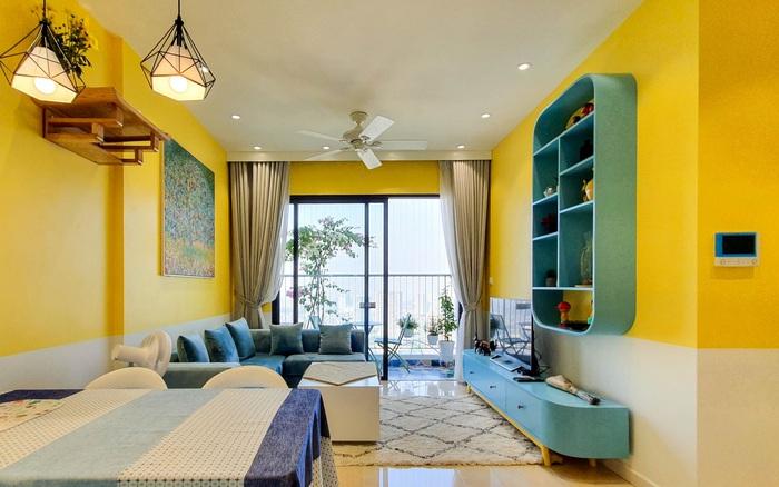 Căn hộ 75m² rực rỡ, trẻ trung với sắc màu nắng vàng của nữ bác sỹ ở Hà Nội