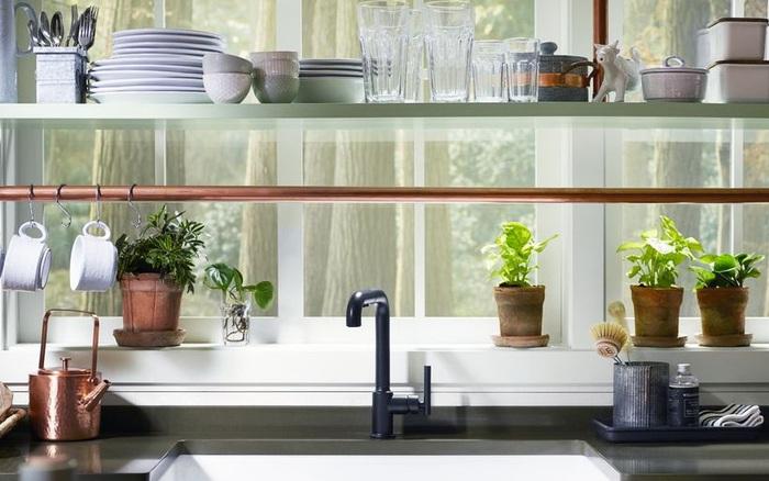 Chỉ với một góc nhỏ xíu, bạn có thể biến thành nhà bếp hoàn hảo với 4 hướng dẫn từ nhà thiết kế nội thất nổi tiếng