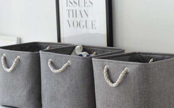 Gợi ý bạn những thùng lưu trữ giúp nhà gọn gàng nhưng vẫn phong cách