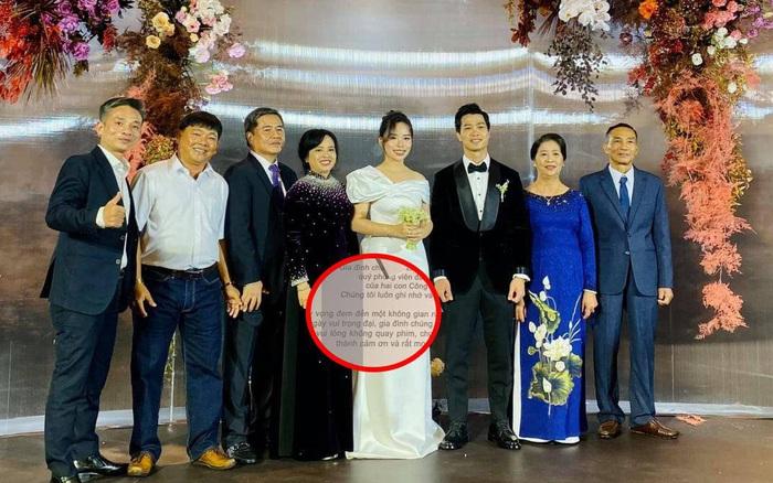 Hôn lễ bảo mật bậc nhất của Công Phượng: Từ tấm thiệp mời khiến tất cả phải xôn xao cho đến lời nhắn nhủ