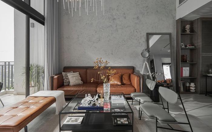 Căn hộ 2 tầng rộng 145m² mang vẻ đẹp ấn tượng không khác gì nhà mẫu ở Sài Gòn