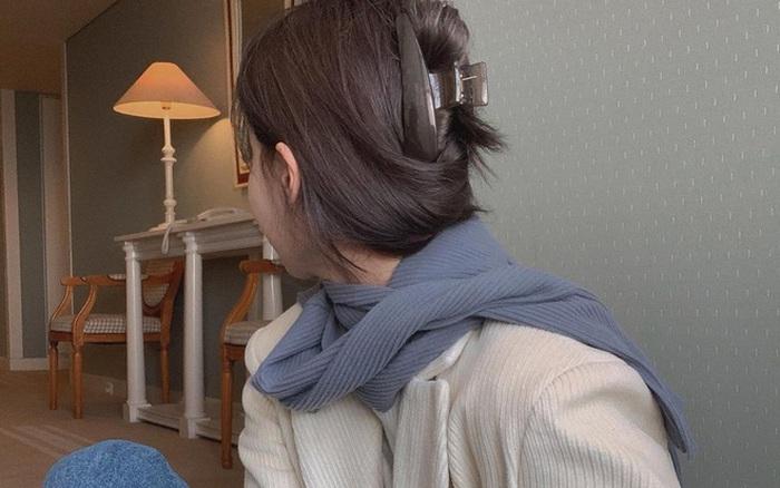 Có ít nhất 5 style giúp gái Hàn thoát cảnh tóc tĩnh điện mùa áo len, bạn có khi cũng nên thử