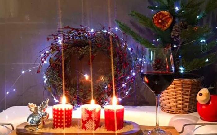 Tổ ấm lung linh sắc màu Giáng sinh nhờ lựa đồ decor khéo léo của người phụ nữ Việt ở Úc