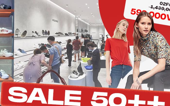 Chưa đến Black Friday nhưng loạt thương hiệu thời trang đã Sale lớn: Có nơi giảm 70% giá rẻ như cho