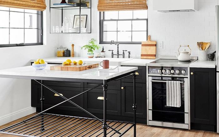 Chỉ với 3 mẹo không quá tồn tiền dưới đây, căn bếp nhỏ của bạn sẽ trở nên thoáng đãng