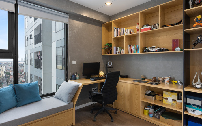 Nữ blogger du lịch ở Sài Gòn thiết kế căn hộ tối giản rộng 83m² đẹp không góc chết nhờ đặt ra 5 nguyên tắc vàng