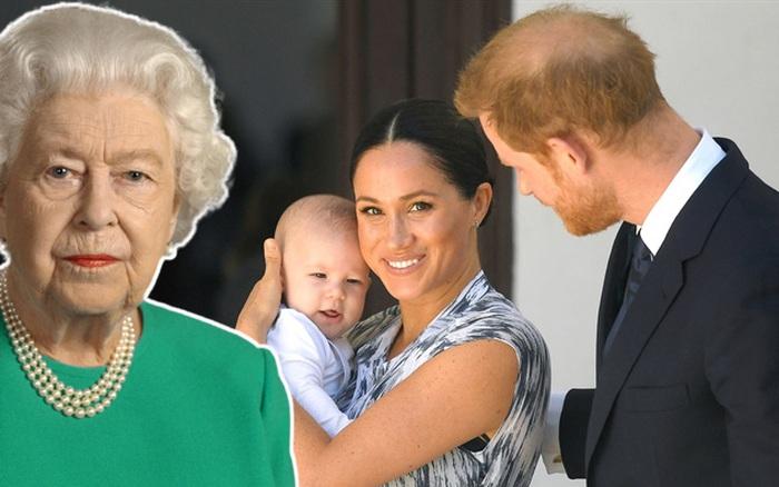 Ít ai ngờ Nữ hoàng Anh mới chỉ được làm điều này với chắt nội đúng 1 lần, tất cả do cách nuôi dạy con của Meghan