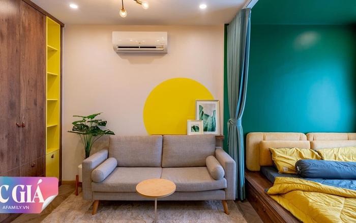 Căn hộ Sài Gòn 28m² đẹp cá tính nhờ cách phối màu táo bạo nhưng chi phí hoàn thiện mới là điều khiến nhiều người bất ngờ