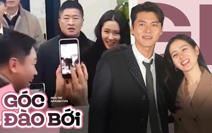 Xuất hiện clip Hyun Bin - Son Ye Jin cặp kè riêng tư nhưng bị fan bắt gặp tại trận, phản ứng của