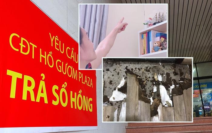 Hà Nội: Chung cư cao cấp 5 năm không được cấp sổ, tường nứt, nước ngấm làm mục sàn nhà, cư dân khốn khổ ở nhà mình mà như ở nhờ