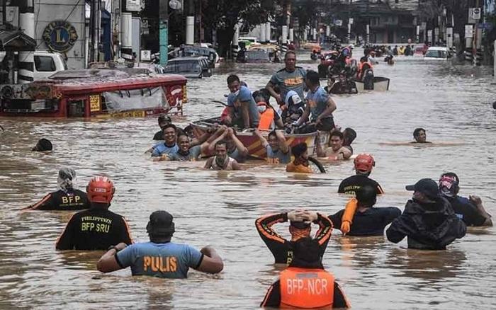 Thiệt hại nặng nề do bão, Philippines tuyên bố tình trạng thiên tai ở Luzon
