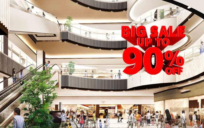 Black Friday: Trung tâm thương mại lớn, đại siêu thị tung siêu khuyến mại, lần đầu tiên có chương trình giảm giá tới 90%