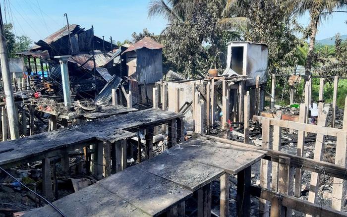 Sau tiếng nổ lớn, 7 căn nhà ở Châu Đốc bị thiêu rụi - kết quả xổ số quảng nam