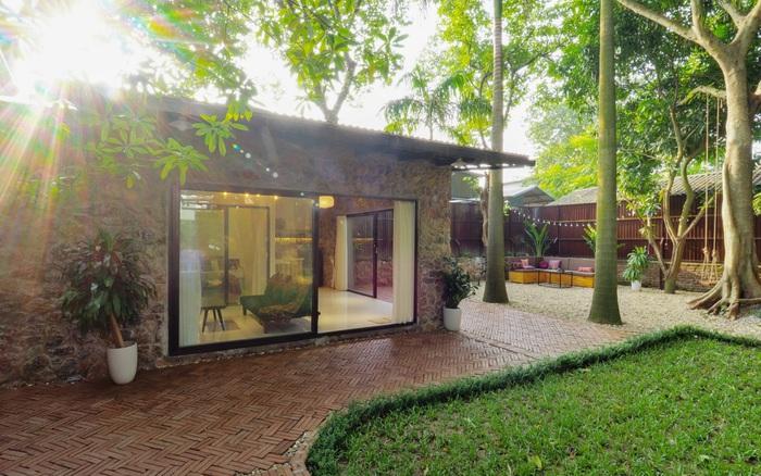 Nhà cấp 4 rộng 45m² đẹp yên bình có chi phí hoàn thiện 300 triệu đồng ở Hà Nội - xổ số ngày 24032020