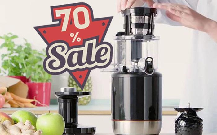 Đừng bỏ lỡ dịp Black Friday: Loạt sản phẩm máy ép chậm giảm giá khủng tới 70%, cơ hội mua sắm giá rẻ cuối năm chỉ một cú click chuột là sở hữu