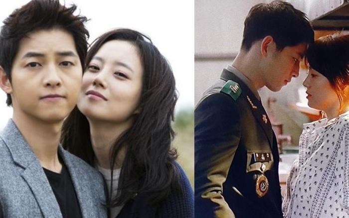 Bộ ảnh Song Joong Ki ngọt ngào bên cạnh Moon Chae Won gây sốt trở lại sau 8 năm, Song Hye Kyo liền bị đem ra so sánh