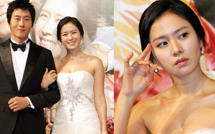 Bộ ảnh Son Ye Jin mặc váy cưới, o ép vòng 1 bên cạnh cố diễn viên Kim Joo Hyuk hot trở lại sau 12 năm