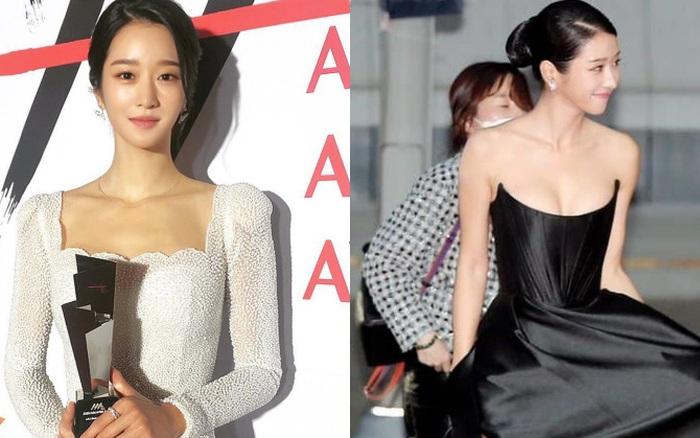Sau màn hở bạo suýt tụt cả váy, Seo Ye Ji bất ngờ đổi style kín đáo nhưng lạ nhất là vòng 1 khủng lại lặn đâu mất - xổ số ngày 24032020