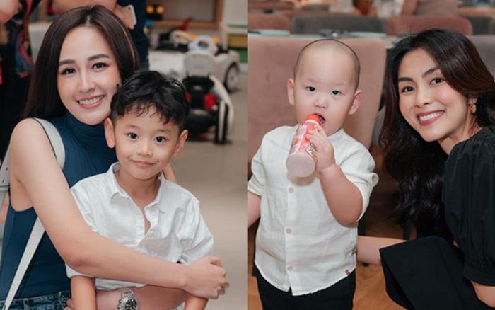 """Đi dự sinh nhật con trai bạn thân nhưng Tăng Thanh Hà và Mai Phương Thúy lại chiếm """"spotlight"""" vì điều này"""