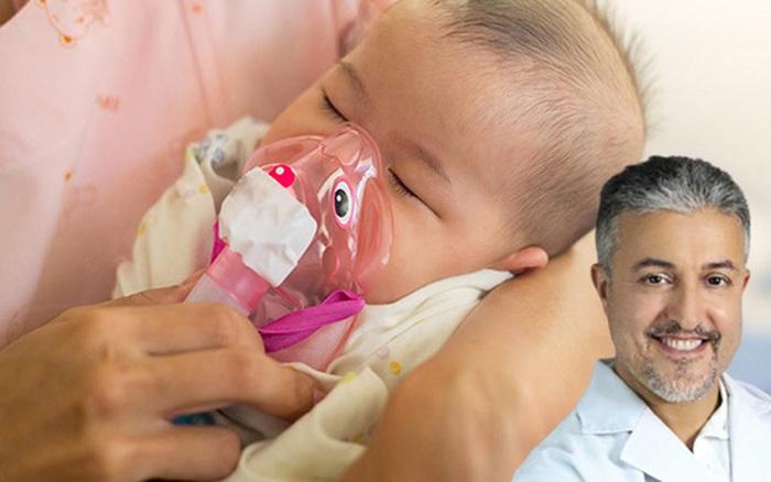 Đề phòng bệnh viêm tiểu phế quản ở trẻ khi trời chuyển lạnh, bác sĩ nhi nhắc bố mẹ cần lưu ý điều sau khi chăm sóc con