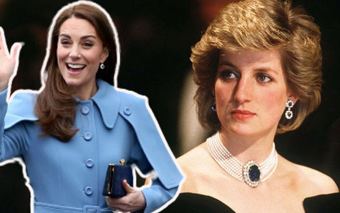Ít người biết Công nương Kate Middleton là nàng dâu Hoàng gia đầu tiên làm được điều này, mẹ chồng Diana cũng không thua kém