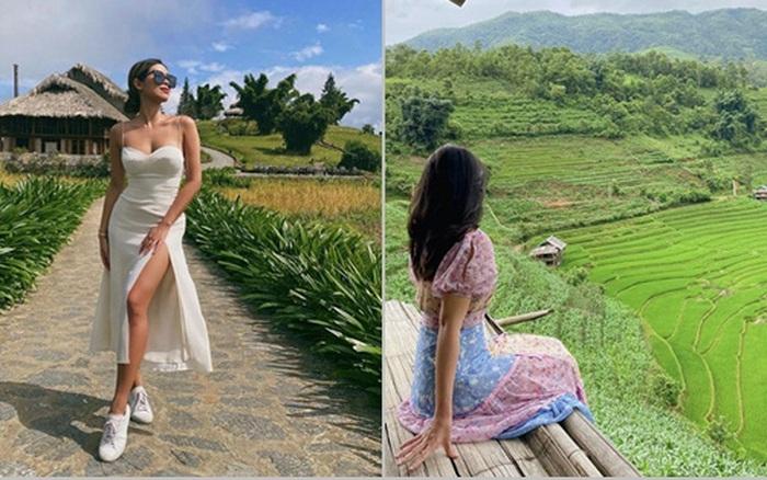 Hiếm hoi mới thấy rich kid Tiên Nguyễn đi nghỉ dưỡng ở Sa Pa, địa điểm cô nàng chọn hóa ra được vô số người yêu thích gần đây