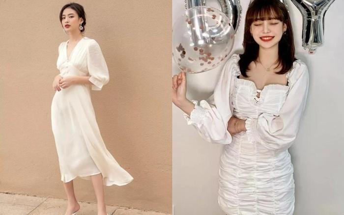 4 kiểu váy trắng mặc lên hack ngay 5 tuổi, diện đi làm hay đi chơi cũng